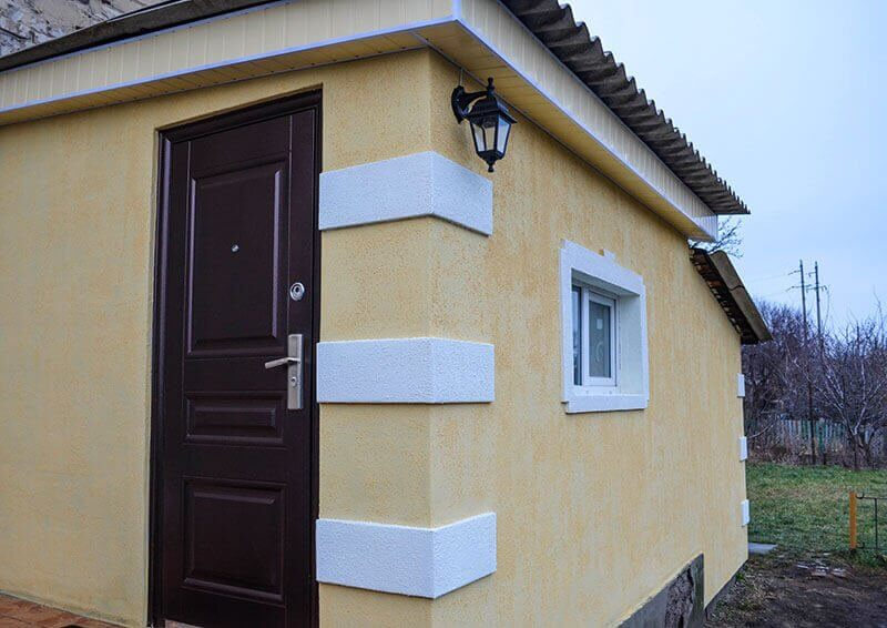 Фасад колор покраска
