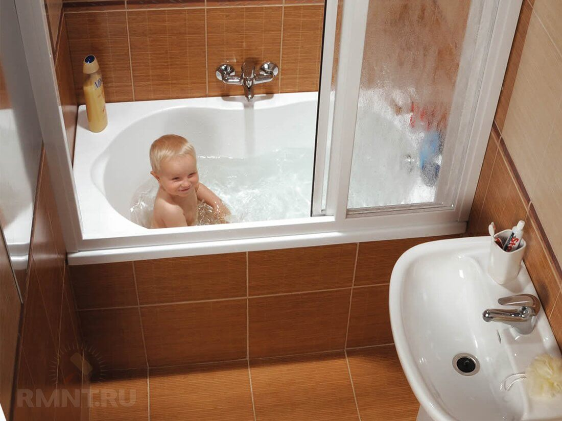 Маленькая ванная комната 96